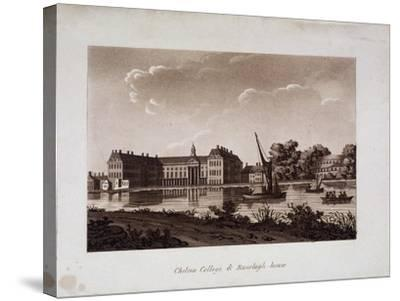 The Royal Hospital and Ranelagh House, Chelsea, London, C1800--Stretched Canvas Print