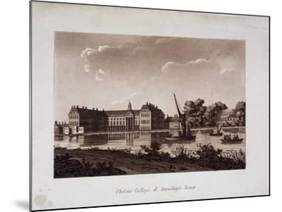 The Royal Hospital and Ranelagh House, Chelsea, London, C1800--Mounted Giclee Print