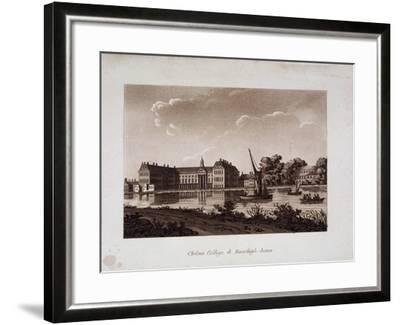 The Royal Hospital and Ranelagh House, Chelsea, London, C1800--Framed Giclee Print