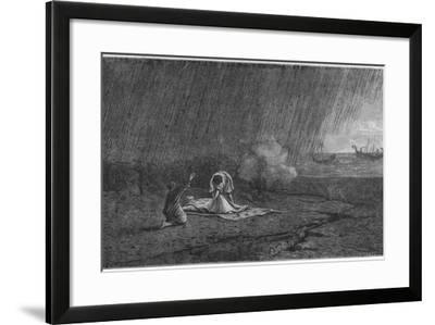 Death of Pliny the Elder, 79--Framed Giclee Print