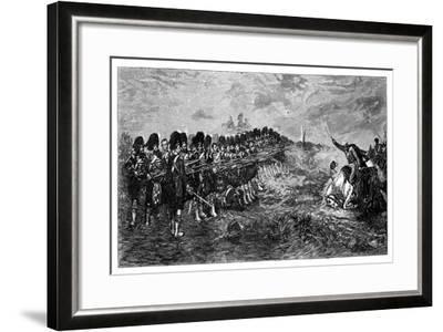 Balaclava, the Thin Red Line, 1881-Robert Gibb-Framed Giclee Print