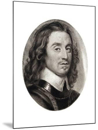 Henry Cromwell, Fourth Son of Oliver Cromwell, 17th Century-Samuel Cooper-Mounted Giclee Print