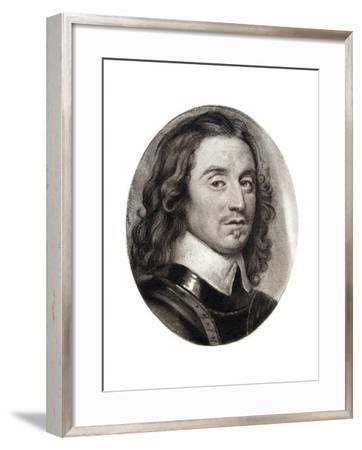 Henry Cromwell, Fourth Son of Oliver Cromwell, 17th Century-Samuel Cooper-Framed Giclee Print