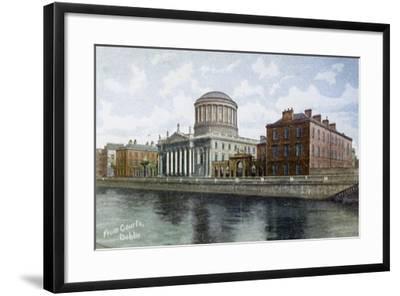 The Four Courts, Dublin, Ireland, C1900s-C1920S--Framed Giclee Print