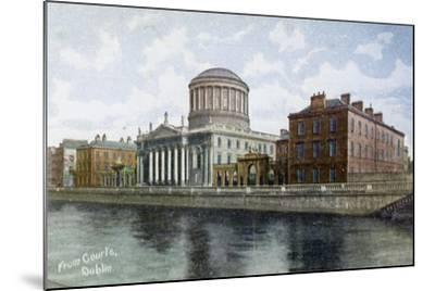 The Four Courts, Dublin, Ireland, C1900s-C1920S--Mounted Giclee Print
