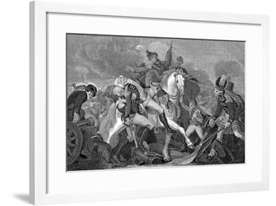 Ralph Abercromby (1734-180), Scottish General, at the Battle of Aboukir Bay, Egypt, 1801--Framed Giclee Print