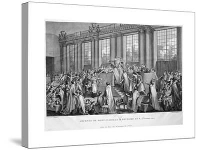 The Coup D'État of the 18th Brumaire (9th November), 1799, 19th Century--Stretched Canvas Print