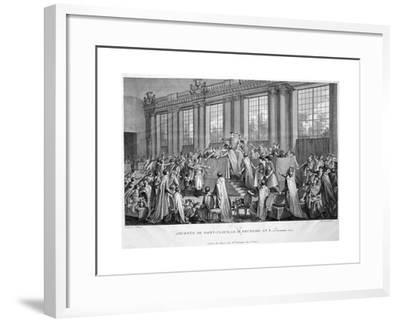 The Coup D'État of the 18th Brumaire (9th November), 1799, 19th Century--Framed Giclee Print
