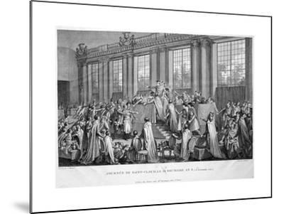 The Coup D'État of the 18th Brumaire (9th November), 1799, 19th Century--Mounted Giclee Print