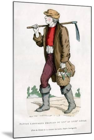 French Peasant Farm Labourer, 16th Century (1882-188)--Mounted Giclee Print