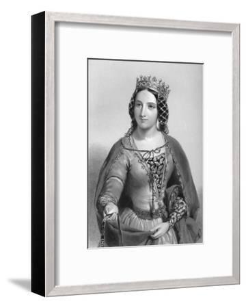 Anne of Warwick (1456-148), Queen Consort of King Richard Iii, 1851--Framed Giclee Print