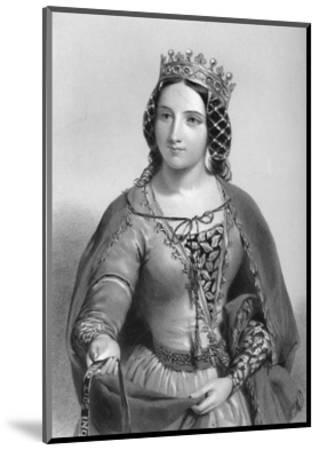 Anne of Warwick (1456-148), Queen Consort of King Richard Iii, 1851--Mounted Giclee Print