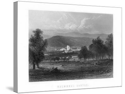 Balmoral Castle, Aberdeenshire, Scotland, 1899--Stretched Canvas Print