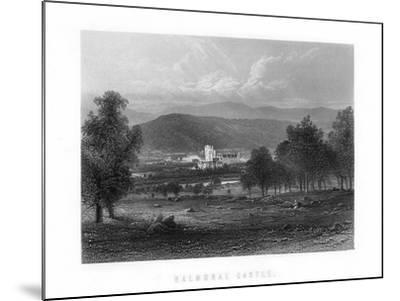 Balmoral Castle, Aberdeenshire, Scotland, 1899--Mounted Giclee Print