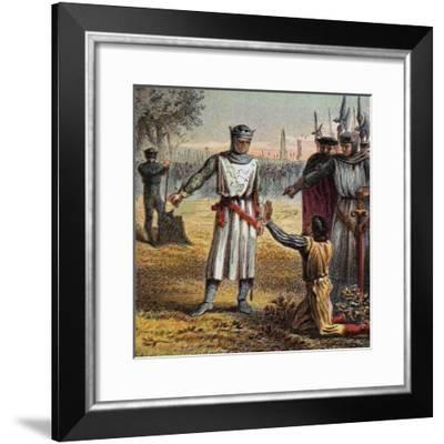 Death of Piers Gaveston, 1312--Framed Giclee Print