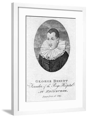 George Heriot (1563-162), Scottish Goldsmith and Philanthropist, 1791--Framed Giclee Print
