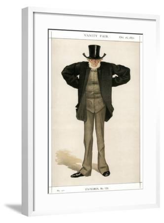 Newcastle on Tyne, Joseph Cowen, British Politician, 1872-Coide-Framed Giclee Print