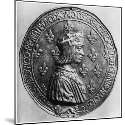 Louis XII, King of France, 1499-Colin Lepere-Mounted Giclee Print