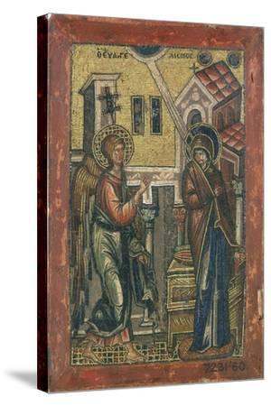 The Annunciation, Early 14th Century--Stretched Canvas Print