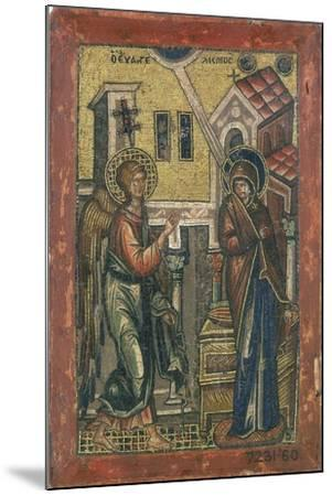 The Annunciation, Early 14th Century--Mounted Giclee Print