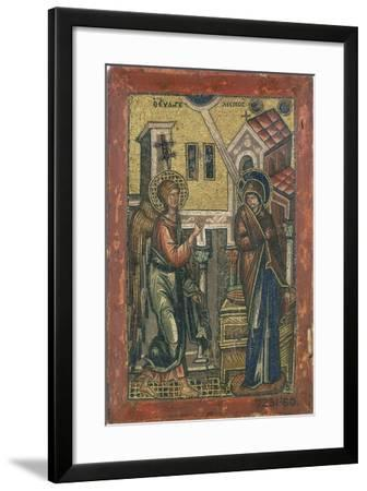 The Annunciation, Early 14th Century--Framed Giclee Print