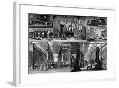 Views in the Royal Small Arms Factory, Enfield, C1880--Framed Giclee Print