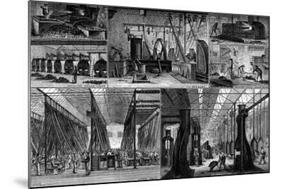 Views in the Royal Small Arms Factory, Enfield, C1880--Mounted Giclee Print