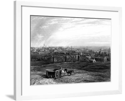 View of Leeds, Yorkshire, Early 19th Century--Framed Giclee Print