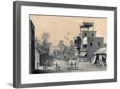 Chittapore Road, Calcutta, 1847-B Clayton-Framed Giclee Print