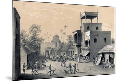 Chittapore Road, Calcutta, 1847-B Clayton-Mounted Giclee Print