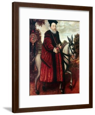 William Cecil, 1st Baron Burghley (1520-159), English Statesman--Framed Giclee Print