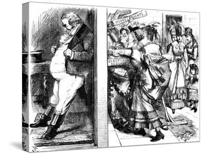 Lydia Ernestine Becker (1827-189), British Advocate of Female Suffrage, 1870--Stretched Canvas Print