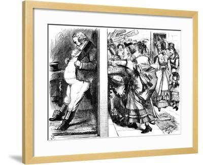 Lydia Ernestine Becker (1827-189), British Advocate of Female Suffrage, 1870--Framed Giclee Print
