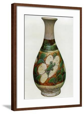 Earthenware Vase, Chinese, Tang Dynasty, 618-907--Framed Giclee Print
