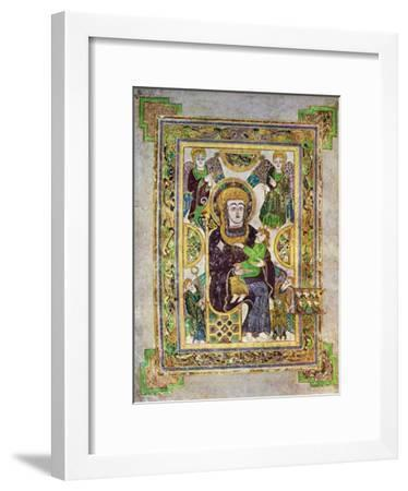The Virgin and Child, C800 Ad--Framed Giclee Print