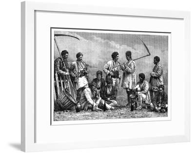 Bulgarian Peasants, C1890--Framed Giclee Print