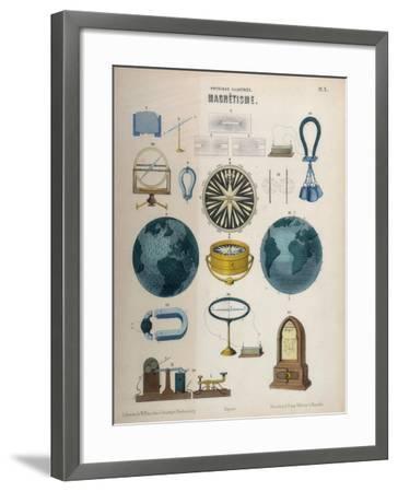 Magnetism, C1850--Framed Giclee Print