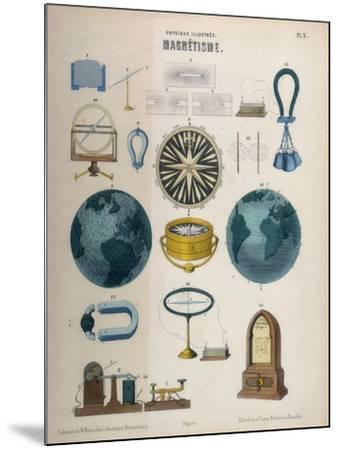 Magnetism, C1850--Mounted Giclee Print