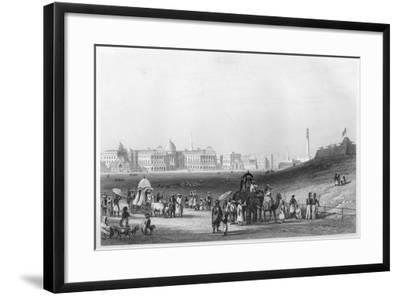 View of Calcutta from the Esplanade, C1860--Framed Giclee Print