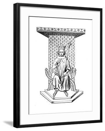 Louis IX, 14th Century--Framed Giclee Print