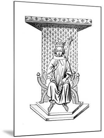 Louis IX, 14th Century--Mounted Giclee Print
