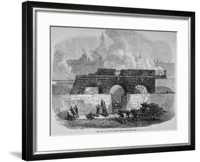 The Remains of Fleet Prison, City of London, 1868--Framed Giclee Print