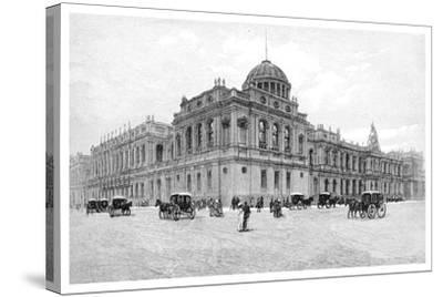The Law Courts, Melbourne, Victoria, Australia, 1886--Stretched Canvas Print