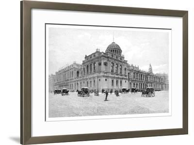 The Law Courts, Melbourne, Victoria, Australia, 1886--Framed Giclee Print