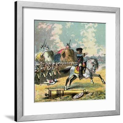 Clive's Victories in India, C1850s--Framed Giclee Print