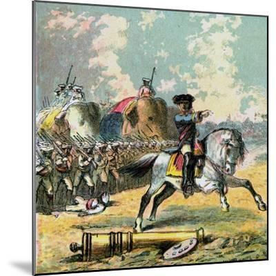 Clive's Victories in India, C1850s--Mounted Giclee Print