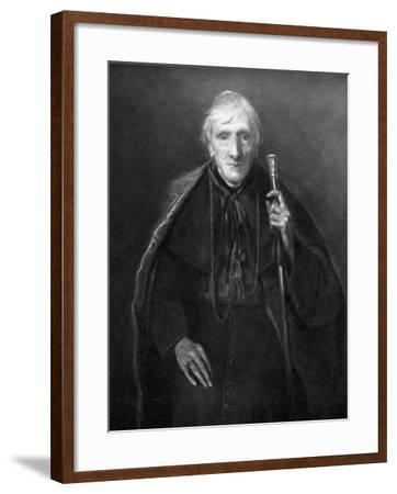 John Henry Newman in Old Age, British Scholar and Theologian, C1885--Framed Giclee Print
