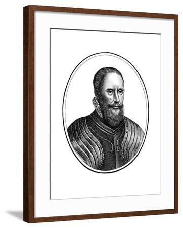 Sir Francis Vere, English Soldier--Framed Giclee Print