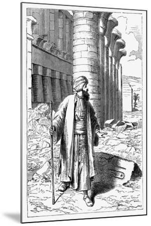 Giovanni Battista Belzoni, Italian Explorer and Antiquity Seeker, C1860--Mounted Giclee Print