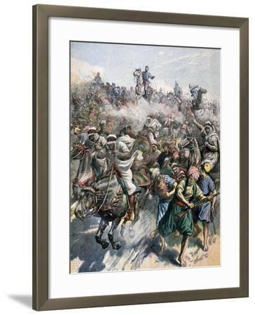 The Death of General Margallo, the Rif War, Morocco, 1893--Framed Giclee Print